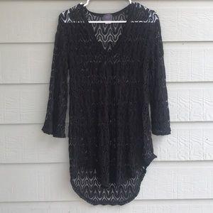 ELIF for Jordan Taylor Bell Sleeve Tunic coverup